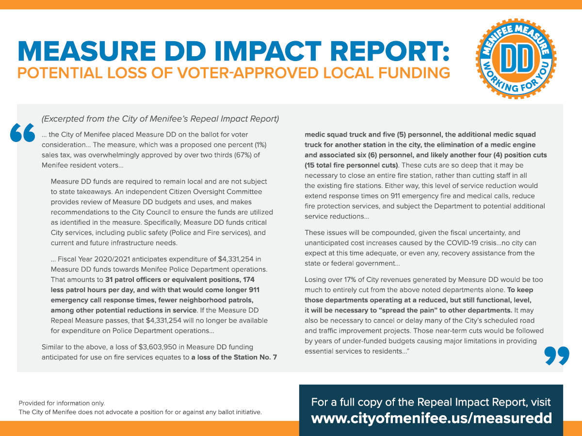 Measure DD Impact Report